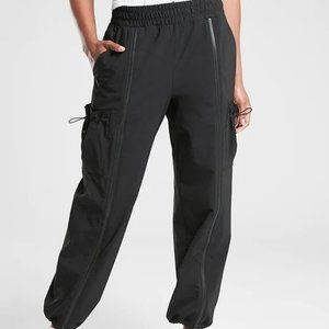 Athleta Stay Fly Pants size LP Black